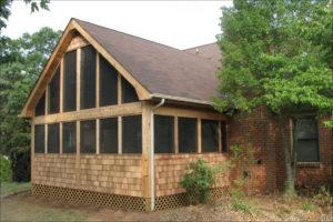 Screened porch creative abundance design build home kitchen renovation charlotte matthews ballantyne